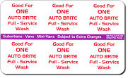 Car Wash Coupons | Pre-Paid Wash Card